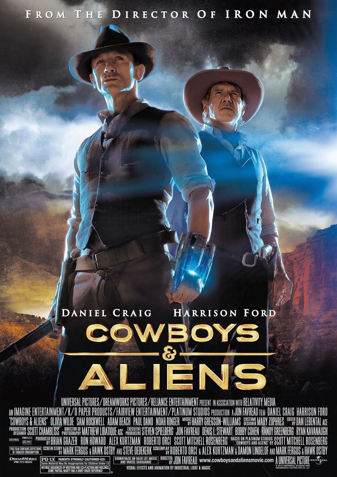 """""""Let's Not Talk About Movies"""": Cowboys & Aliens"""