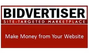 Monetizar sitios web con Bidvertiser
