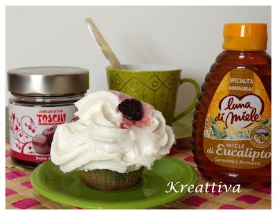 muffin  con amarene
