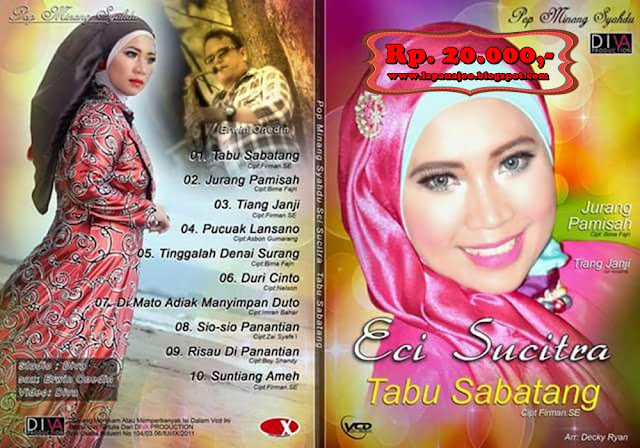Eci Sucitra - Tabu Sabatang (Album Pop Minang Syahdu)