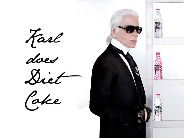 Karl Lagerfeld used to drink 10 Diet Cokes a day and called toast 'the height of luxury'