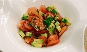 Guacamole, Palta con Tomate
