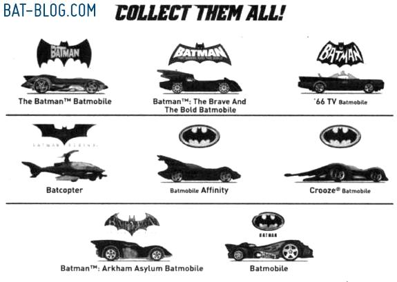 Bat Blog Batman Toys And Collectibles New Mattel Hot Wheels