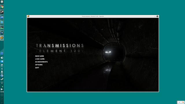 Linuxで起動しているトランスミッション: エレメント 120(Transmissions: Element 120)