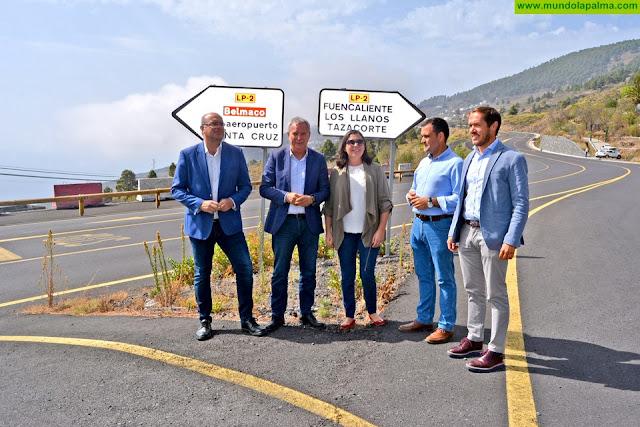 El Cabildo de La Palma y la Consejería de Obras Públicas, Transportes y Vivienda del Gobierno de Canarias se comprometen a realizar un trabajo conjunto de planificación, coordinación y transparencia