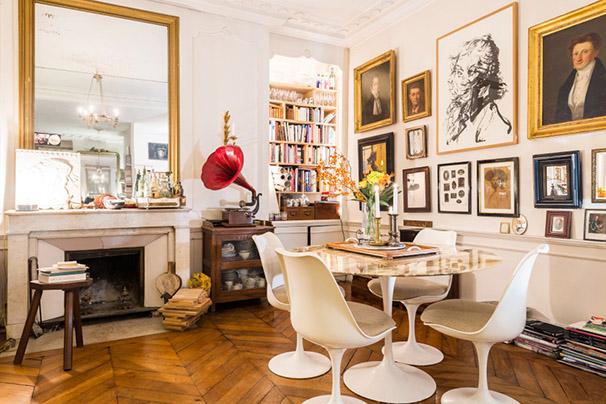 cadres anciens mobilier vintage et esprit décoration brocante