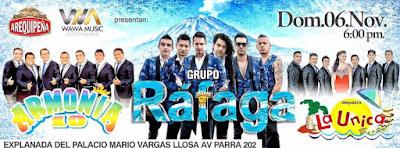 Rafaga en Arequipa