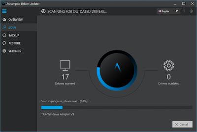 Screenshot Ashampoo Driver Updater 1.1.0.27413 Full Version