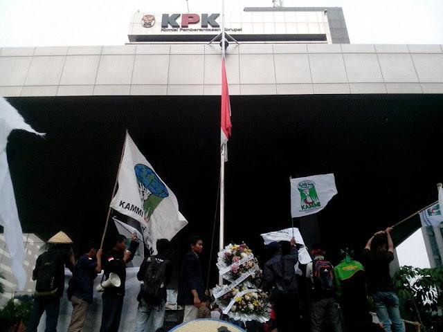 Mahasiswa Tagih Komitmen KPK Tuntaskan Kasus Korupsi Sumber Waras dan Reklamasi Teluk Jakarta