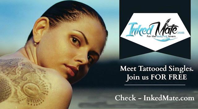 Dating-Website Tattoo