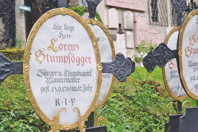 Stumpfogger Petersfriedhof