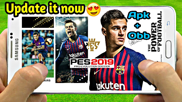 Download PES 2019 Mobile New Update Apk+Obb (Android/IOS)