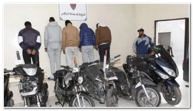 تارودانت 24 taroudant _الرشيدية .. تفكيك عصابة متخصصة في سرقة وتهريب الدراجات النارية من دول أوروبية