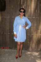 Richa Chadda Latest Pos in Blue Short Dress at the Screening Of Short Film Khoon Aali Chithi  0018.jpg