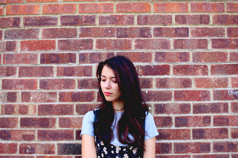 Save the friday, ootd, back to school, brandy melville, hackney, london, red brick, outfits, floral dress,