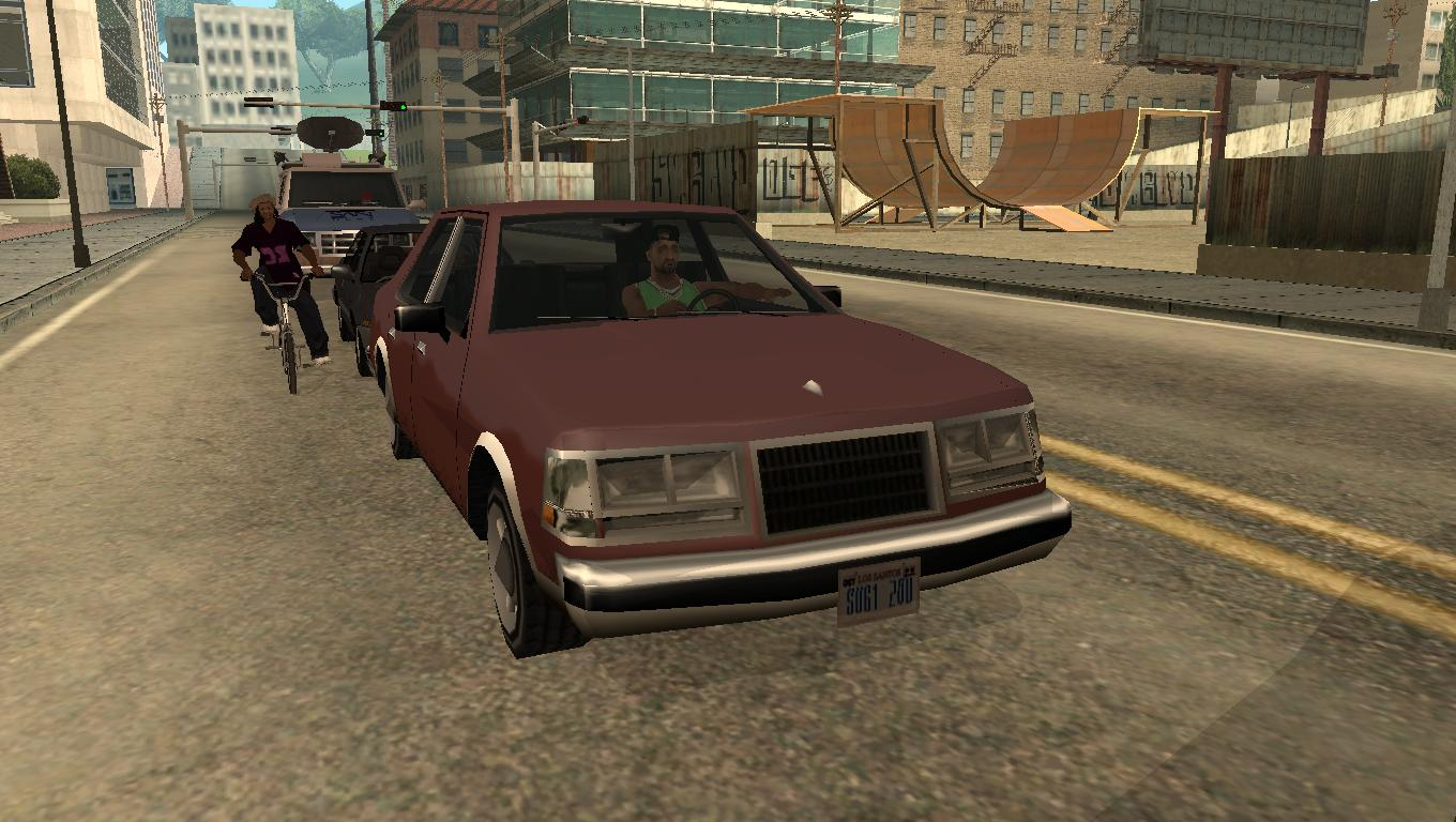 Low Poly garage: 1985 Lincoln Continental for GTA SA