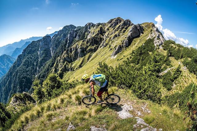 Biken Val Dogna Monte Agar MTB - Mountainbike Tour Clap del Jovel
