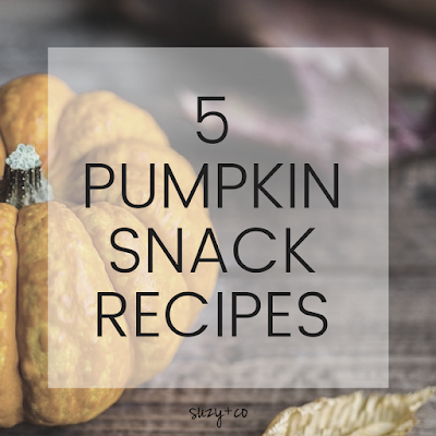 5 pumpkin snacl recipes