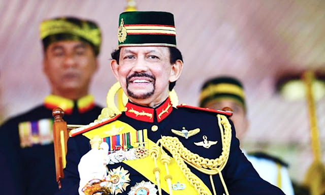 Hassanal Bolkiah Sultan in Brunei