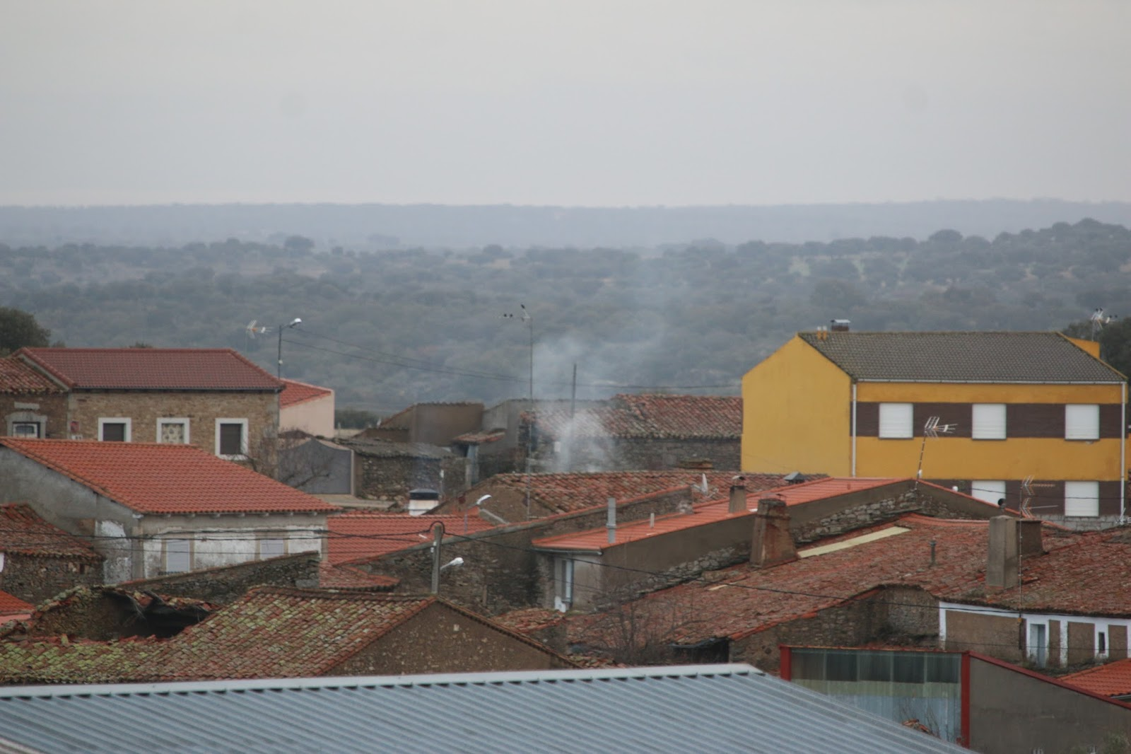Bogajo salamanca las chimeneas echan humo en bogajo - Chimeneas en salamanca ...