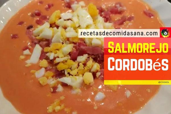 Receta de salmorejo comida sana y tradicional de España