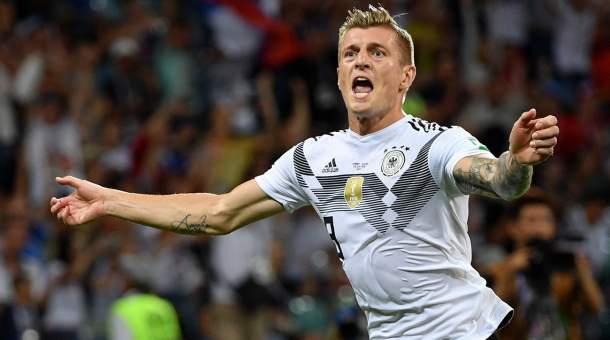 Timnas Jerman Puji Gol Toni Kroos