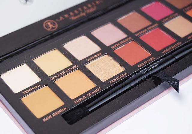 Anastasia Beverly Hills - Modern Renaissance Lidschattenpalette, Eyeshadow Palette, Red, Beerentöne, Rot, AMU, Augen, Make-Up