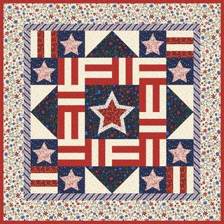 Quilt Inspiration: Free pattern day: Patriotic and flag quilts : stars and stripes quilt - Adamdwight.com