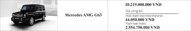Giá xe Mercedes AMG G63 2018 tại thị trường Việt Nam