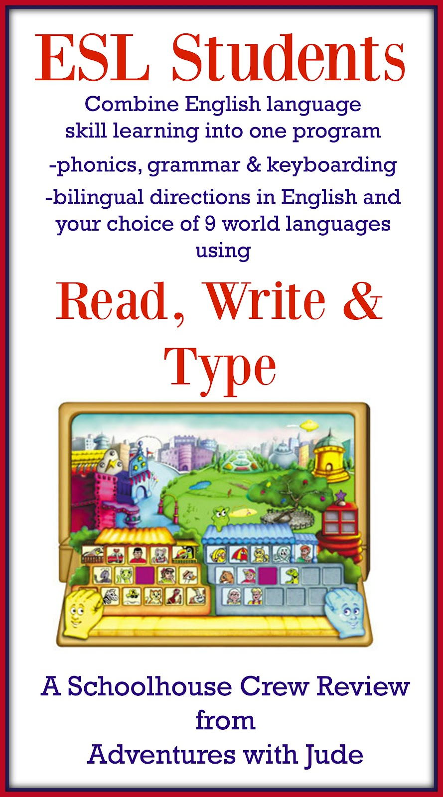 read write and type Please submit your review for rw - read & write 1 rate this product: 2 one-line summary: (10 characters minimum) count: 0 of 55 characters 3.