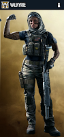 Portrait of Valkyrie - Rainbow Six Siege Operator