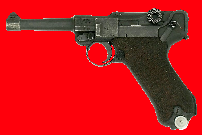 luger p08 co2 blowback