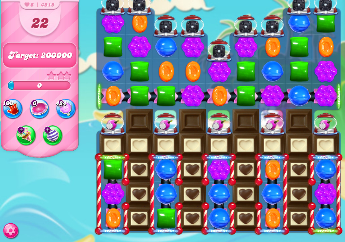 Candy Crush Saga level 4515