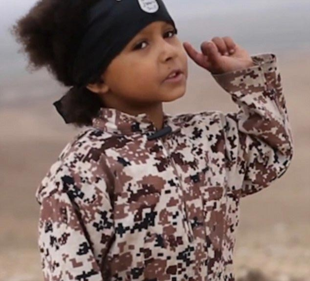 "4-year-old Becomes ""World's Youngest Terrorist"" After His Nigerian Mother Recruited Him To ISIS (Photos)"