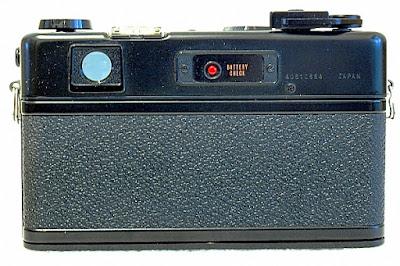 Yashica Electro 35 GTN, Back