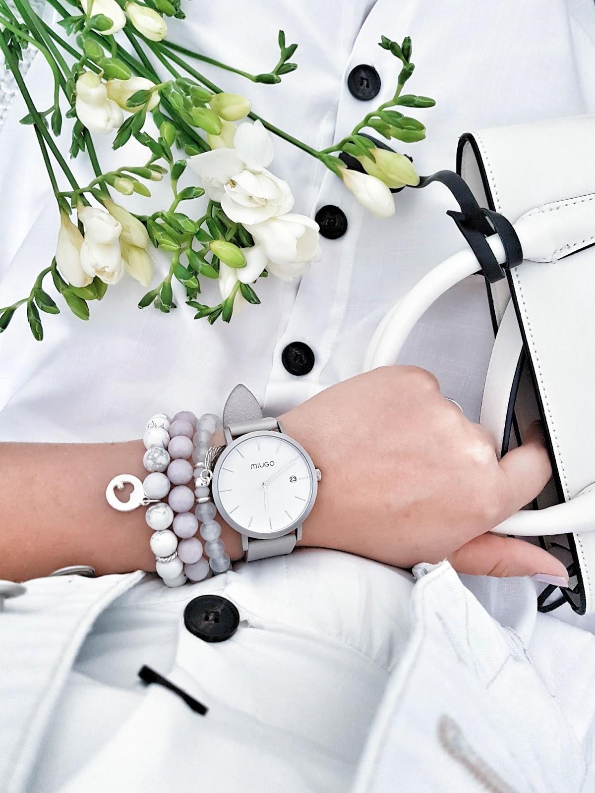 Button up white dress czyli idealna sukienka na lato