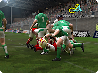 EA Sports Rugby 08 Gameplay 8