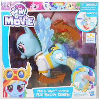 Flip And Whirl Pirate Rainbow Dash