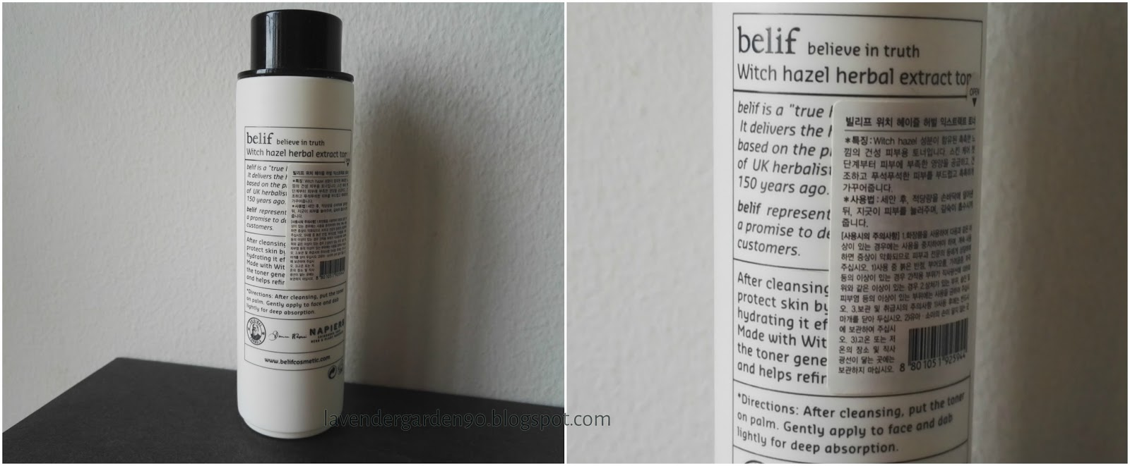 Witch Hazel Herbal Extract Toner by belif #17
