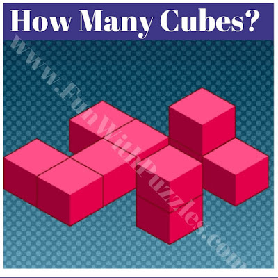 Brain teaser to count number of cubes