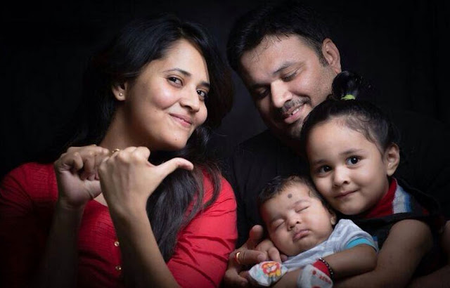 Anchor Anasuya Family Photos
