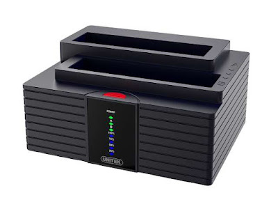 UNITEK Dual Bay USB Docking Station