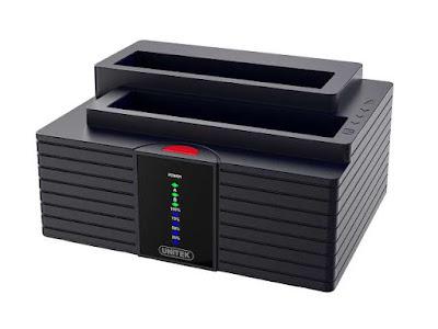 UNITEK Dual Bay USB Docking Station