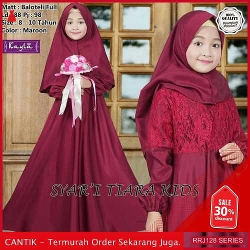 Jual RRJ128P214 Pakaian Anak Perempuan Wanita Tiara Kids Syari BMGShop