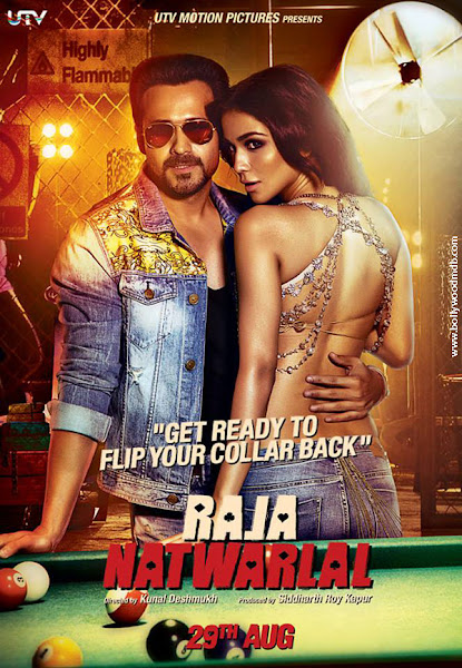 Poster of Raja Natwarlal 2014 Full Movie 720p Hindi HDRip x264 Download