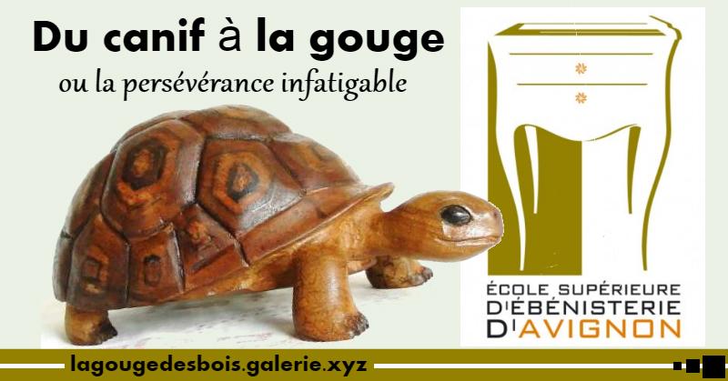 Exposition annuelle des sculpteurs de l'ESEA école supérieure d'ébénisterie d'Avignon