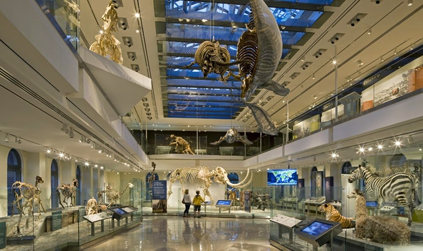 Museu de História Natural de Los Angeles na Califórnia