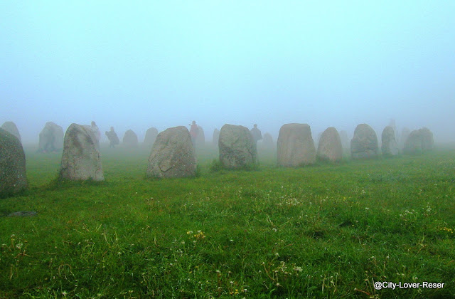 Kåseberga - Ales stenar- Sweden