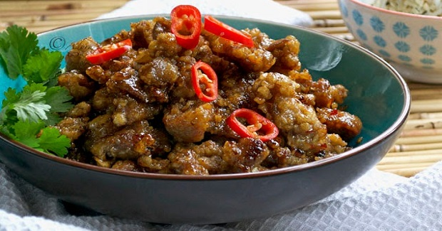 Chilli Garlic Pork Recipe