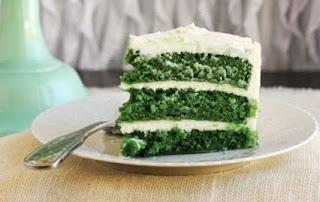 Receita de bolo green velvet